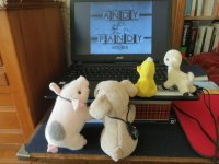 Watching Andy Pandy