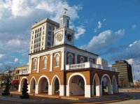 The Market House in downtown Fayetteville