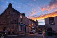 town sunset Kilsyth