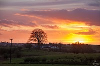 sunset Kirkintilloch