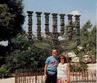 Israel Manora with Glenn and Terrie