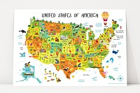 US Kids Map