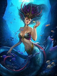 Pretty mermaid