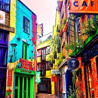 Neal 's Yard-Covent Garden(Londres)