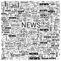 Black   White Abstract News Square Background.