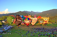 Hot air balloon in Taiwan
