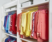 closet color clothes