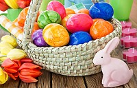 bunny color eggs