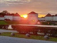 Sonnenuntergang Nymphenburg