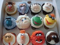 funny face cupcakes