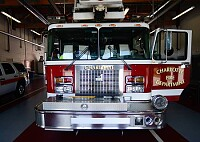 Charlotte Fire Department fire engine