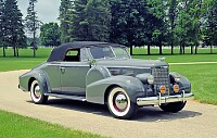 1938 Cadillac Model 75 Convertible Coupe