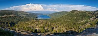 Donner Lake as seen from Donner Pass
