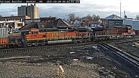 CP-8556   BNSF-4750 at Deshler,OH/USA