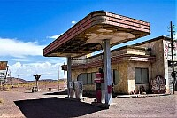 ghost service station