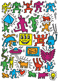 Keith Haring Puzzle 2
