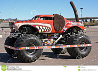 colorful monster truck