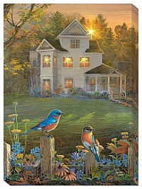 Home and bird