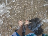 Toes in Surf